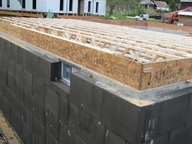 External Basement Wall Insulation System