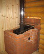Кирпичная кладка в бане вокруг печи – Как обложить металлическую печь кирпичом