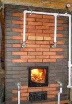Печь для дома с котлом – Печь с водяным контуром для отопления дома