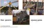 Как делать крышу – пошаговая инструкция, правила и советы